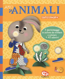 Amici animali. Con adesivi. Ediz. a colori.pdf