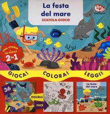 Voluntariadobaleares2014.es La festa del mare. Scatola gioco. Ediz. a colori. Con puzzle Image