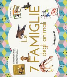 Fondazionesergioperlamusica.it Le 7 famiglie degli animali. Ediz. a colori. Con gadget Image