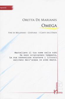 Omega - Oretta De Marianis - copertina