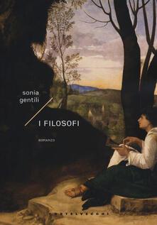 I filosofi - Sonia Gentili - copertina