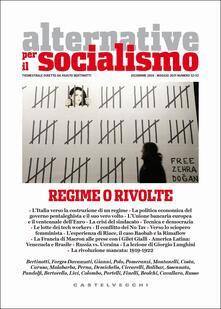 Lpgcsostenible.es Alternative per il socialismo (2018-2019). Vol. 52-53: Regime o rivolte (Dicembre-Maggio). Image