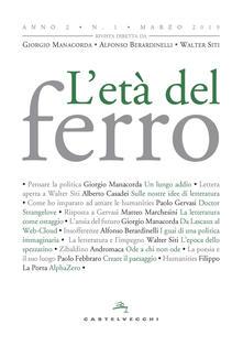 Secchiarapita.it L' età del ferro (2019). Vol. 1 Image
