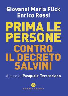 Equilibrifestival.it Prima le persone. Contro il decreto Salvini Image