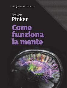 Come funziona la mente - Steven Pinker - copertina