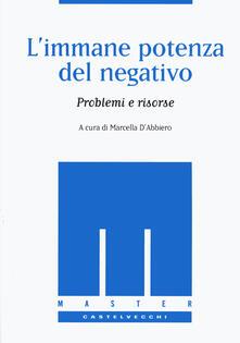 Amatigota.it L' immane potenza del negativo. Problemi e risorse Image