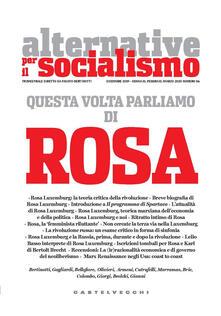 Antondemarirreguera.es Alternative per il socialismo (2019). Vol. 56: Questa volta parliamo di Rosa. Image