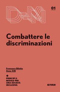 Libro Combattere le discriminazioni Francesco Billotta Anna Zilli