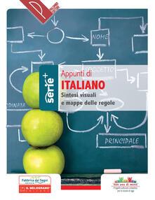 Winniearcher.com Appunti di Italiano. Sintesi visuali e mappe delle regole. Ediz. a spirale Image