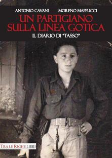 Un partigiano sulla Linea Gotica. Il diario di «Tasso» - Antonio Cavani,Moreno Maffucci - copertina