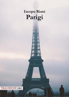 Parigi - Iacopo Riani - copertina