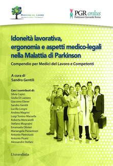 Idoneità lavorativa, ergonomia e aspetti medico-legali nella malattia di Parkinson. Compendio per medici del lavoro e competenti.pdf