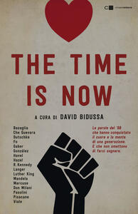 The time is now - copertina