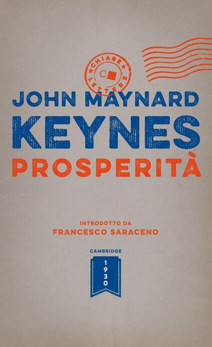 Prosperità - Silvia Boba,John Maynard Keynes - ebook