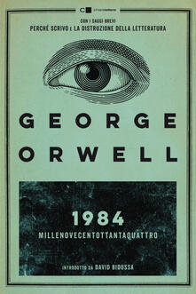 Millenovecentottantaquattro - George Orwell - copertina