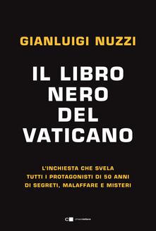 Il libro nero del Vaticano - Gianluigi Nuzzi - copertina
