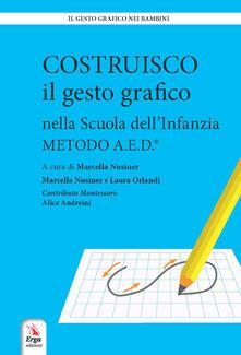 Antondemarirreguera.es Costruisco il gesto grafico nella Scuola dell'infanzia. Metodo A.E.D. Image