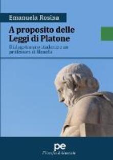 Festivalshakespeare.it A proposito delle Leggi di Platone. Dialogo tra uno studente e un professore di filosofia Image
