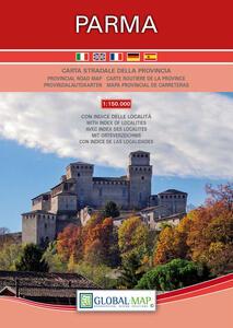 Parma. Carta stradale della provincia 1:150.000 (cm 62,5x64,7)