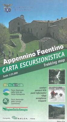 Winniearcher.com Appennino Faentino. Carta escursionistica 1:25.000 Image