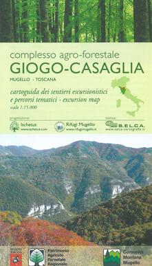 Filippodegasperi.it Complesso agro-forestale Giogo-Casaglia. Mugello-Toscana. Cartoguida dei sentieri escursionistici e percorsi tematici 1:15.000 Image