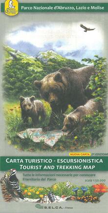 Antondemarirreguera.es Parco nazionale d'Abruzzo, Lazio e Molise. Carta turistico-escursionistica 1:50.000 Image