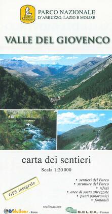Amatigota.it Valle del Giovenco. Carta escursionistica 1:20.000 Image