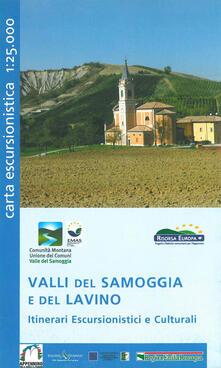 Valli del Samoggia e del Lavino. Itinerari escursionistici e culturali. Carta escursionistica 1:25.000.pdf