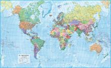 Mondo. Carta politica 1:20.000.000 (carta murale magnetica stesa cm 200x126)