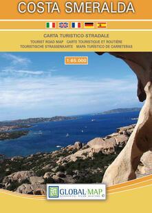 Ilmeglio-delweb.it Costa Smeralda. Carta turistico-stradale 1:65.000. Ediz. multilingue Image