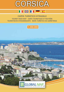 Radiospeed.it Corsica. Carta turistica 1:250.000 Image