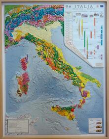 Tegliowinterrun.it Carta geologica d'Italia. Scala 1:1.250.000 (carta in rilievo cm 89x117) Image