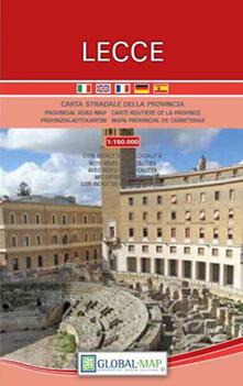 Charun.it Lecce scala 1:150.000. Carta della provincia Image