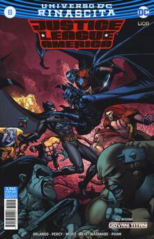 Radiospeed.it Rinascita. Justice League America. Vol. 6 Image