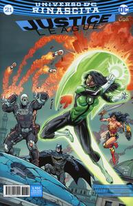 Rinascita. Justice League. Vol. 21