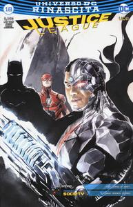 Rinascita. Justice League. Variant. Vol. 18