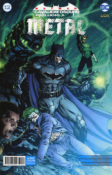 Camfeed.it Preludio a Metal. Batman. Il cavaliere oscuro. Vol. 12 Image