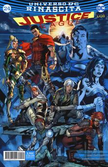 Nordestcaffeisola.it Rinascita. Justice League. Vol. 24 Image