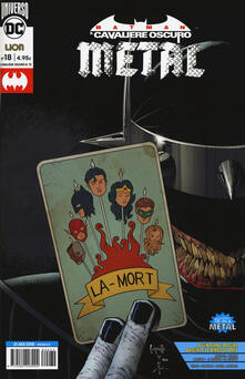 Secchiarapita.it Metal. Batman. Il cavaliere oscuro. Vol. 18 Image