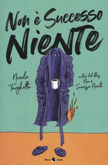 Non è successo niente - Nicolò Targhetta - copertina
