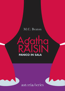 Panico in sala. Agatha Raisin - M. C. Beaton - copertina