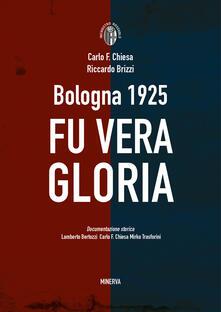 Ristorantezintonio.it Bologna 1925. Fu vera gloria Image