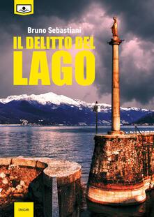 Il delitto del lago - Bruno Sebastiani - copertina