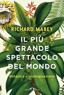Il più grande spettacolo del mondo. Botanica e immaginazione - Richard Mabey - copertina