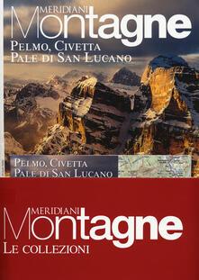Winniearcher.com Pelmo, Civetta, Pale di San Lucano-Marmolada. Con 2 Carta geografica ripiegata Image