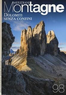Amatigota.it Dolomiti senza confini-Viaggio nelle Alpi. Con Carta geografica ripiegata Image