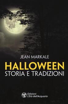 Halloween. Storia e tradizioni - Jean Markale - copertina