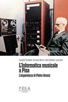 Antondemarirreguera.es L' informatica musicale a Pisa. L'esperienza di Pietro Grossi Image