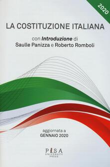 Ristorantezintonio.it La Costituzione italiana. Aggiornata a gennaio 2020 Image