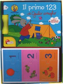 Il primo 123 di Giulio Coniglio. Ediz. a colori. Con gadget.pdf